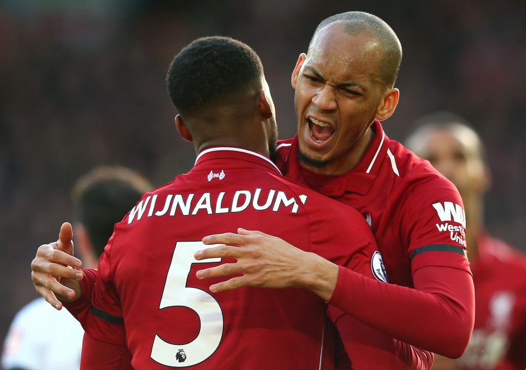 Both Wijnaldum and Fabinho are expected to be offered new contracts soon. (GETTY Images)