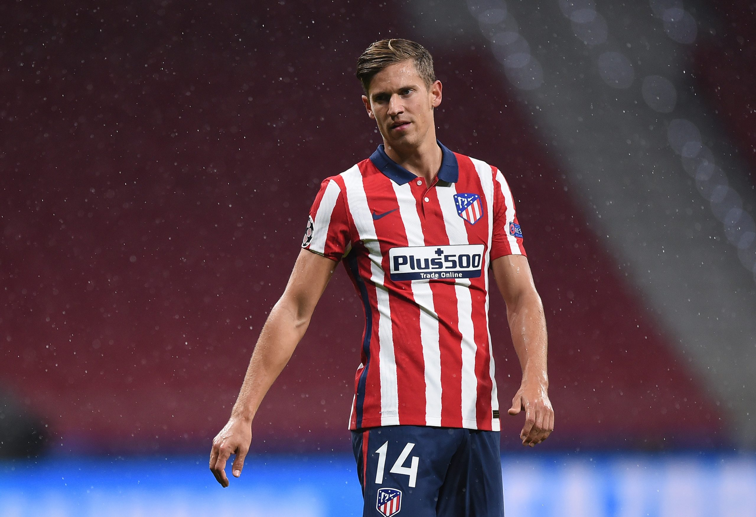 Marcos Llorente has been ever-present in the Atletico Madrid lineup this season. (GETTY Images)