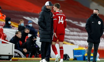 Jordan Henderson with Liverpool manager Jurgen Klopp. (GETTY Images)
