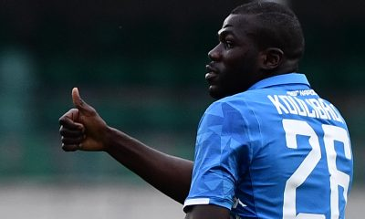 Kalidou Koulibaly in action for Napoli. (GETTY Images)